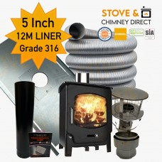 Saltfire ST-X5 Package Deal (5 Inch 12m Liner in 316)