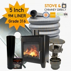 Saltfire ST1 Package Deal (5 Inch 9m Liner in 316)