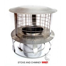 Chimney Pot Hanging Cowl (6 inch)