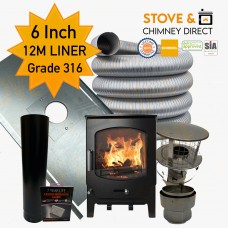 Saltfire ST-X8 Package Deal (6 Inch 12m Liner in 316)