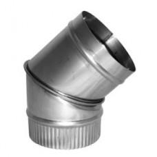 Stainless Steel 5 inch 45 deg Elbow